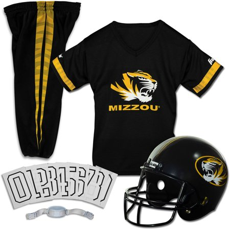 Franklin Sports NCAA Missouri Tigers Uniform Set, - Missouri Tigers Jersey