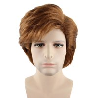 80's Iconic Singer Wig, Brown Adult HM-121