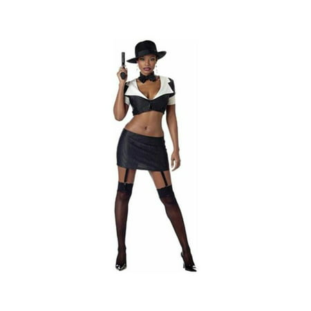 Adult Sexy Gangster Moll Costume](Gangster And Moll Costumes)