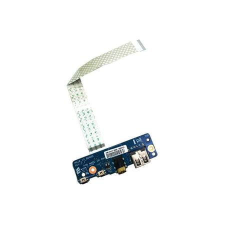 Toshiba L15 MA20_IO_BOARD Satellite L15-B USB Port Audio Jack Board With Cable MA20 IO USA I/O Boards- Video Audio USB IR DC TV PWR - Used Very Good (Toshiba Satellite Usb)