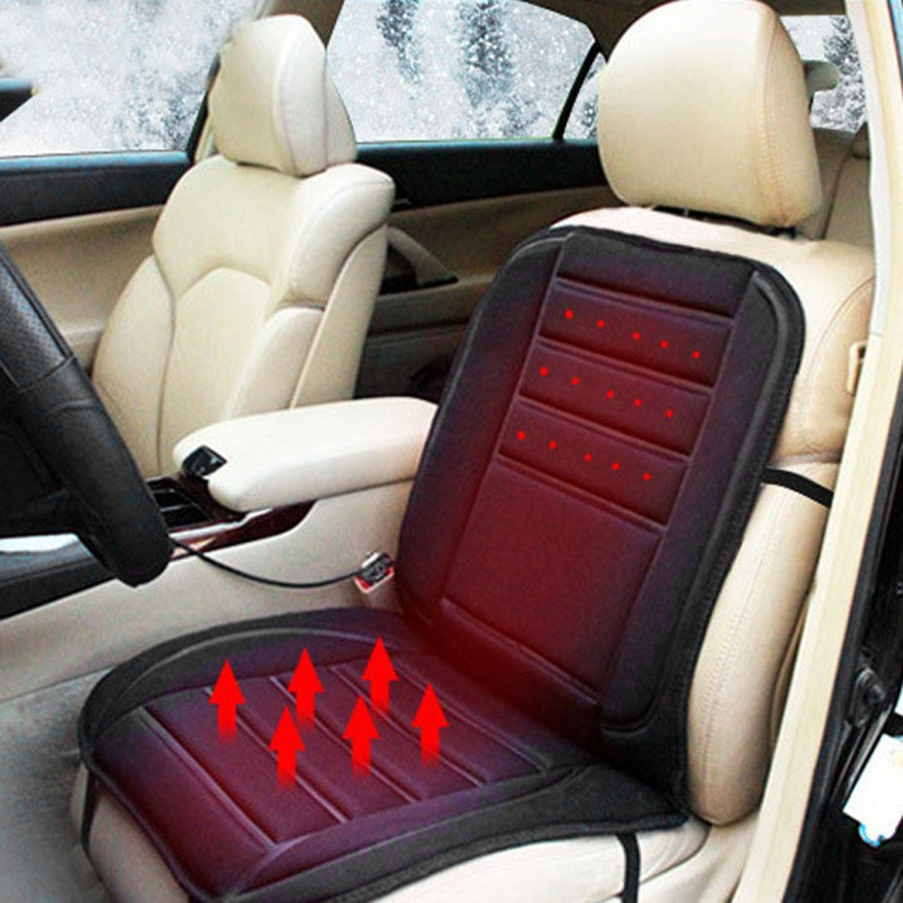 Universal 12V Automobiles Seat Cover Heater Car Heated Cushion Warmer Winter Thermal Pad Accessories