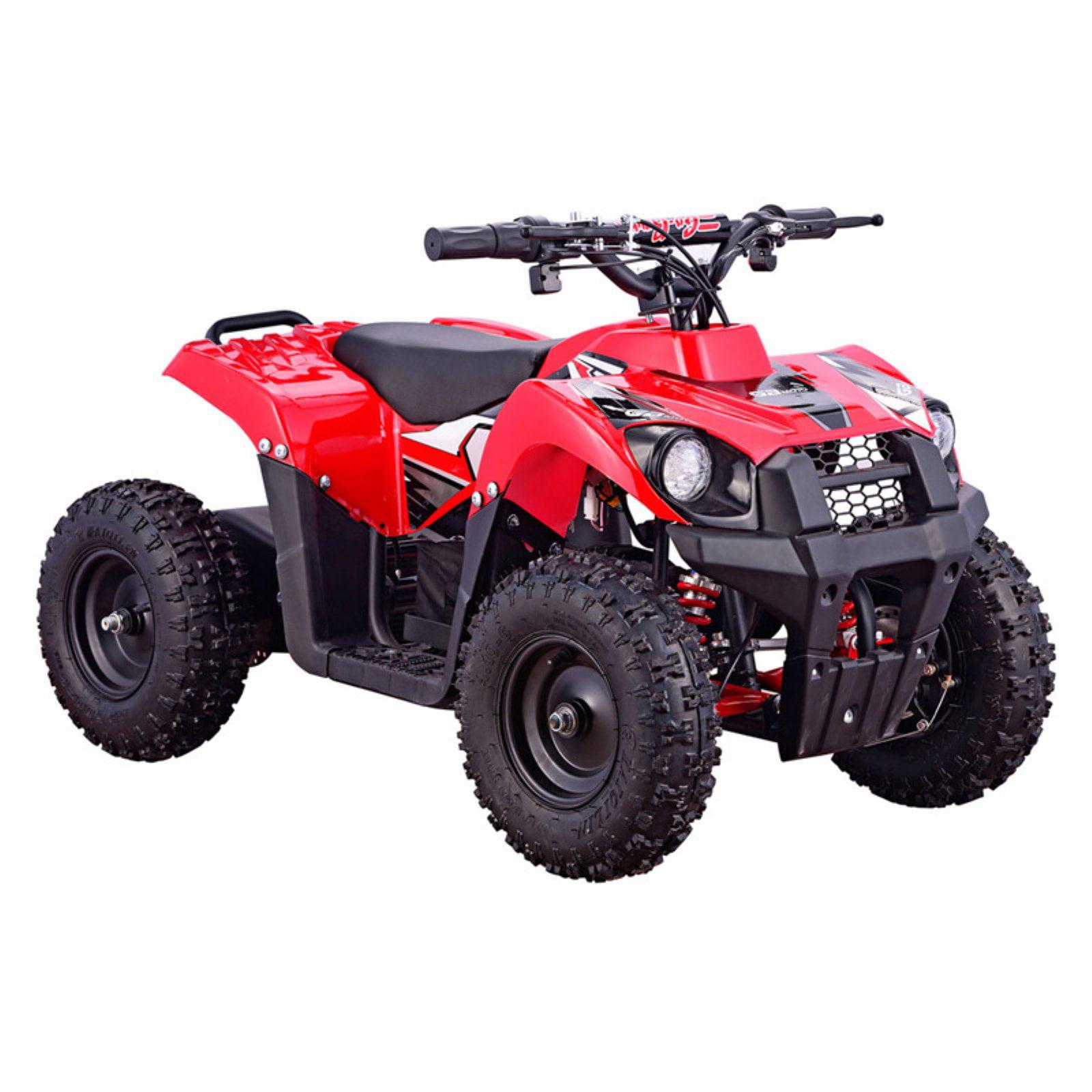 MotoTec Monster 36V 500W ATV, Red