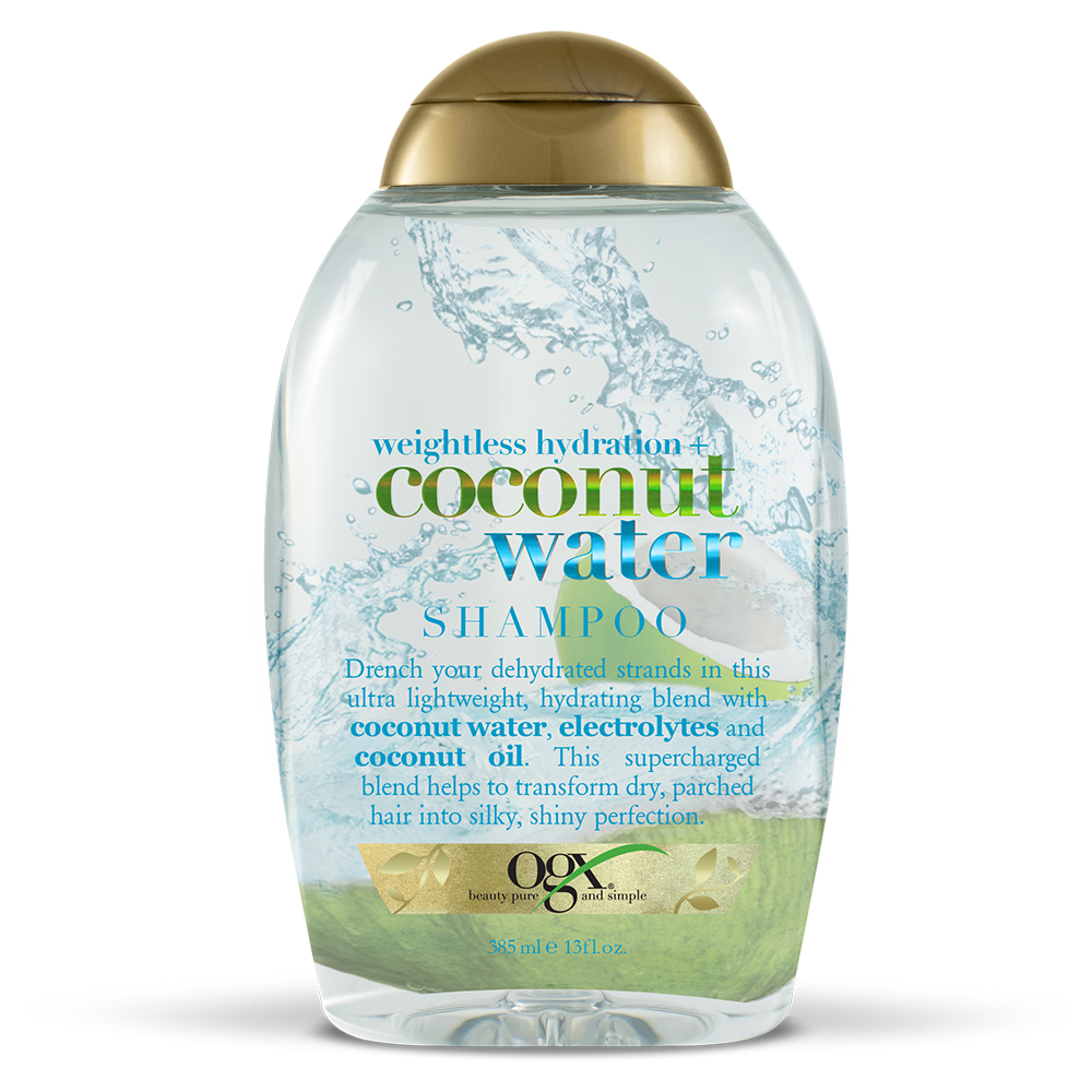OGX® Weightless Hydration + Coconut Water Shampoo, 13 Fl OZ