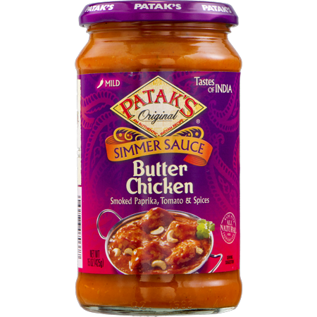 Patak's Tastes Of India Butter Chicken Simmer Sauce,