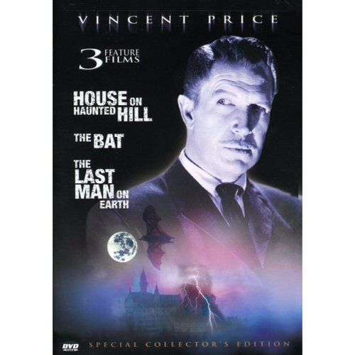Vincent Price: The House On Haunted Hill / The Bat / The Last Man On Earth (Collector's Edition)