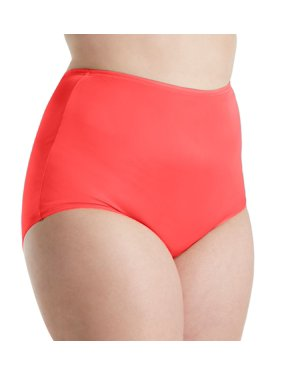 a4c609d35ae1 Product Image Women's Shadowline 17032P Plus Size Hidden Elastic Nylon  Classic Brief Panty