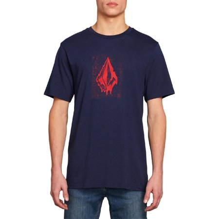 Volcom Mens Modern Fit Logo T-Shirt Volcom Mens Block
