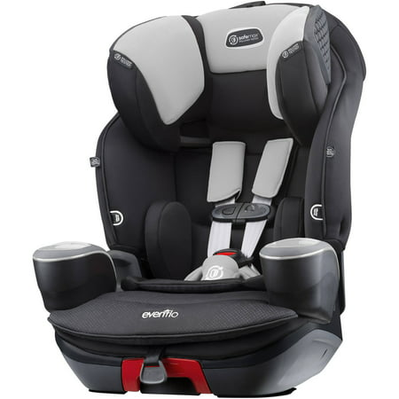 Evenflo SafeMax 3-In-1 Combination Booster Seat, Shiloh