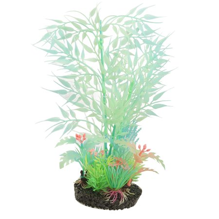 Fluorescent Plastic Underwater Plants for Fish Tank - image 1 of 1