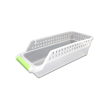 Slim Plastic Storage Basket -