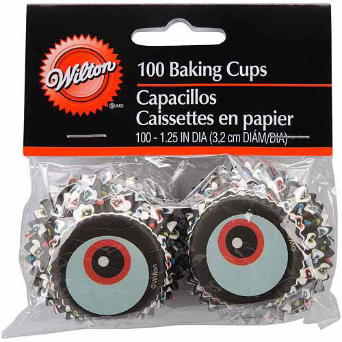 Mini Baking Cups, 100/Pkg