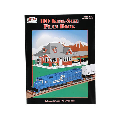 14 HO Kingsize Plan Book Multi-Colored