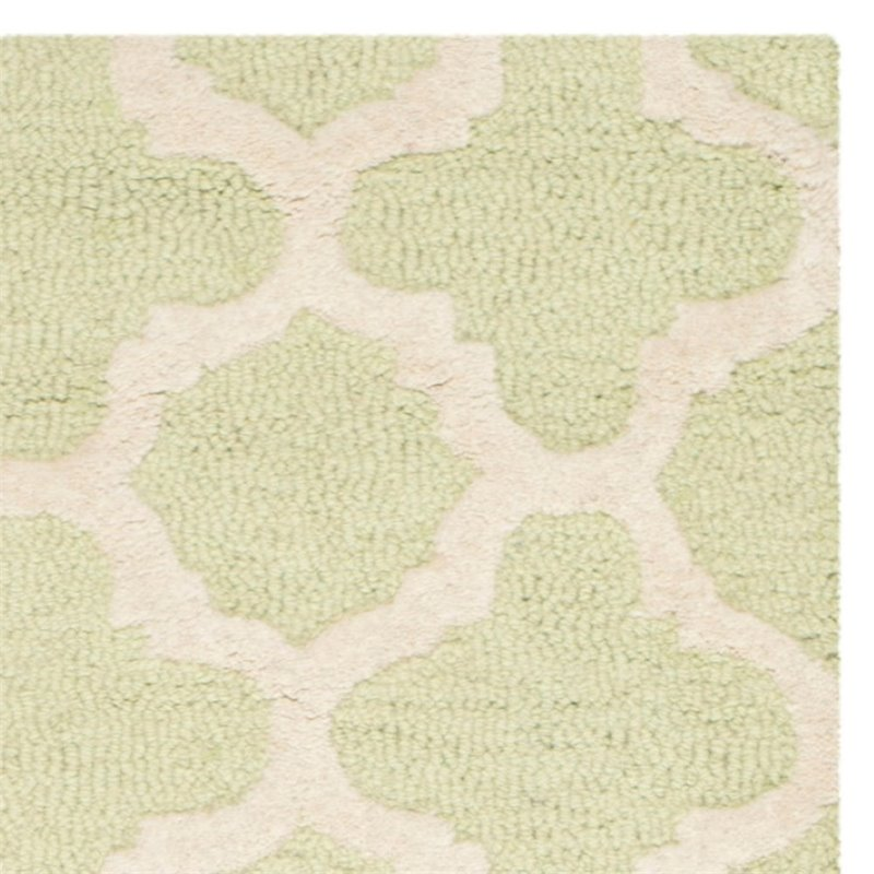 Safavieh Cambridge 6' Round Hand Tufted Wool Rug - image 8 de 10
