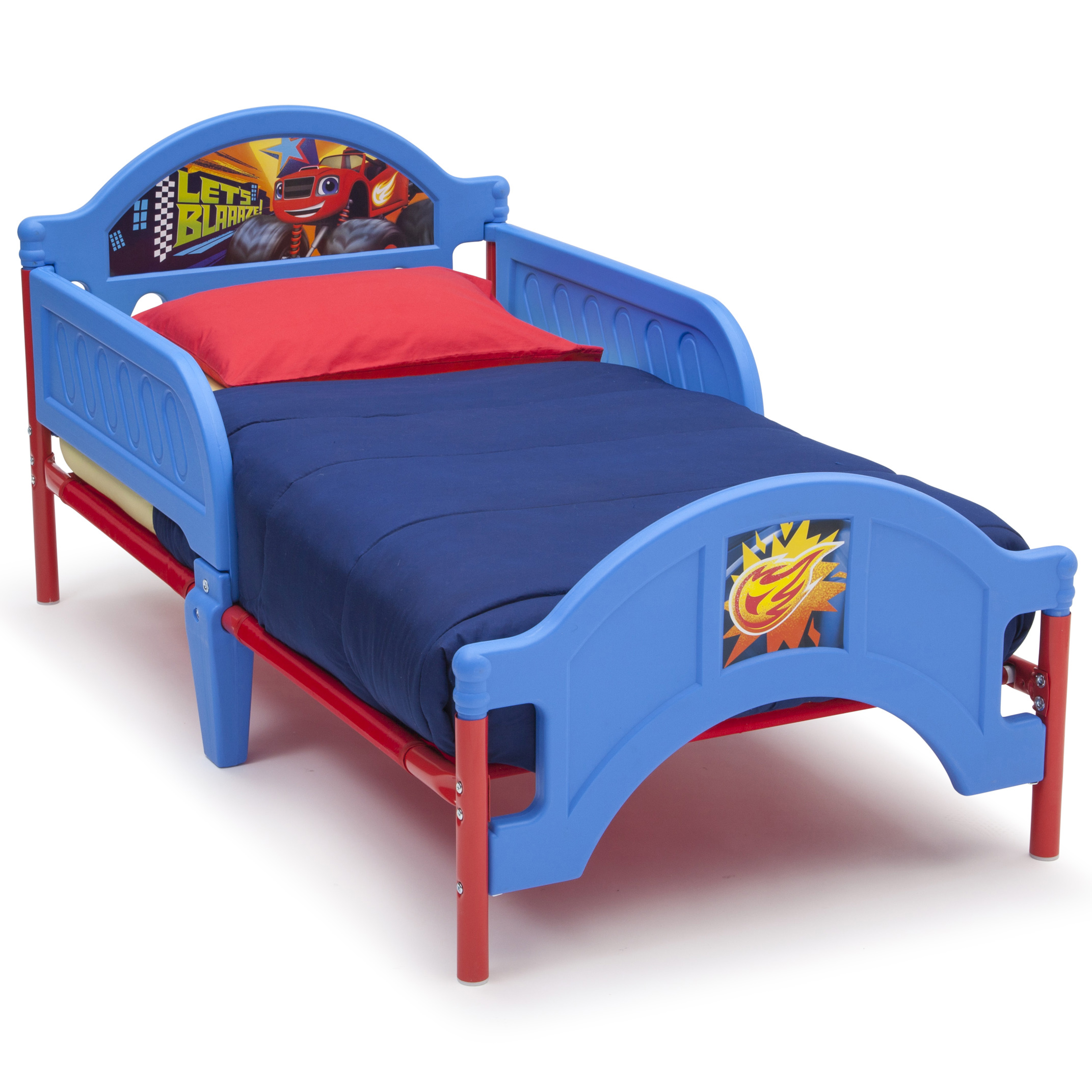 Delta Children Blaze and the Monster Machines Plastic Toddler Bed