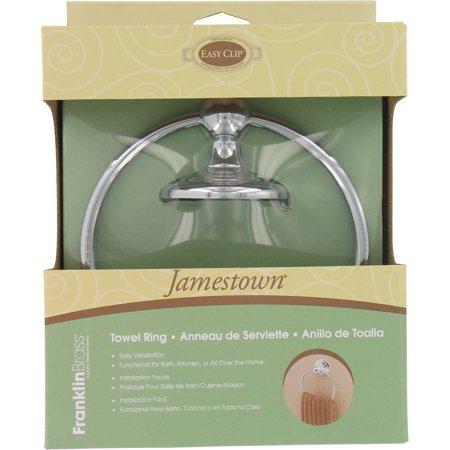 Franklin Brass 127731 Polished Chrome Jamestown Towel (Brass Polished Ring)