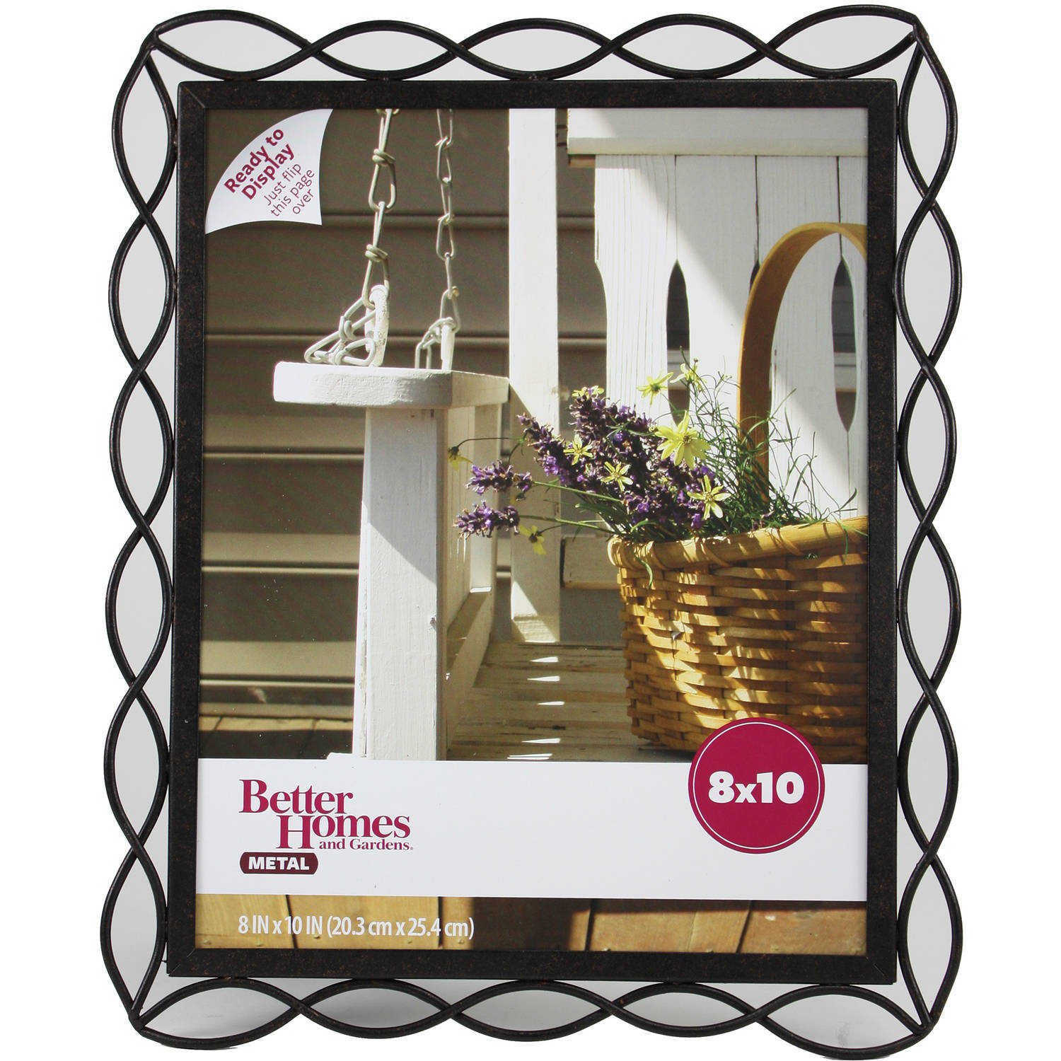 Better Homes and Gardens 8x10 Photo Frame, Tuscan Bronze Finish