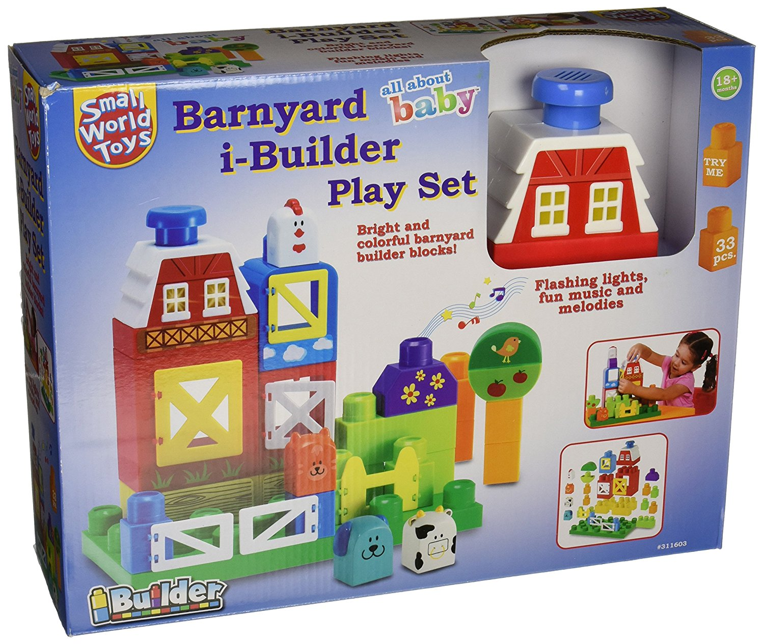 Barnyard i-Builder Play Set, Small World Toys presents their super fun Barnyard i-Builder Play Set By Small... by