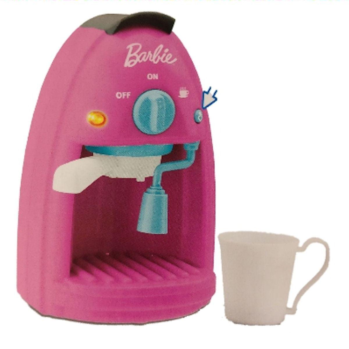 Barbie Kitchen Playset Coffee Espresso Maker - Walmart.com