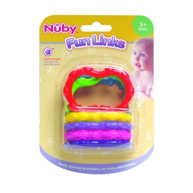 DDI 408795 Fun Links - Nuby Teether - 3 Mo. plus Case Of 72