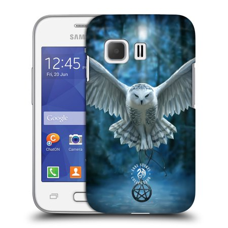 OFFICIAL ANNE STOKES OWLS HARD BACK CASE FOR SAMSUNG PHONES 3