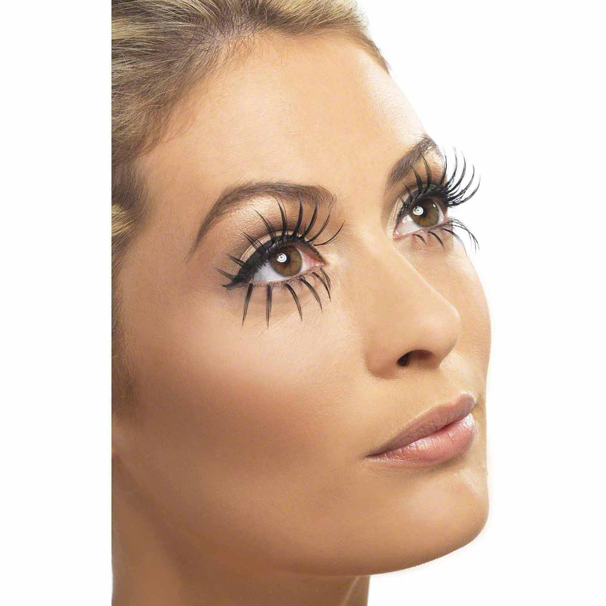 Gothic Manor Ghost Bride Eyelashes Adult Halloween Costume Accessory