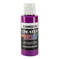 Fluorescent Createx 5400 Airbrush Artist Colors 2.0 oz Bottle - Gallon Size Neon Vibrant Paint Options