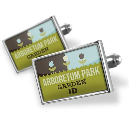 Cufflinks US Gardens Arboretum Park Garden - ID - NEONBLOND