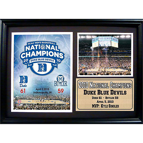 NCAA Duke Photo Stat Frame, 12x18