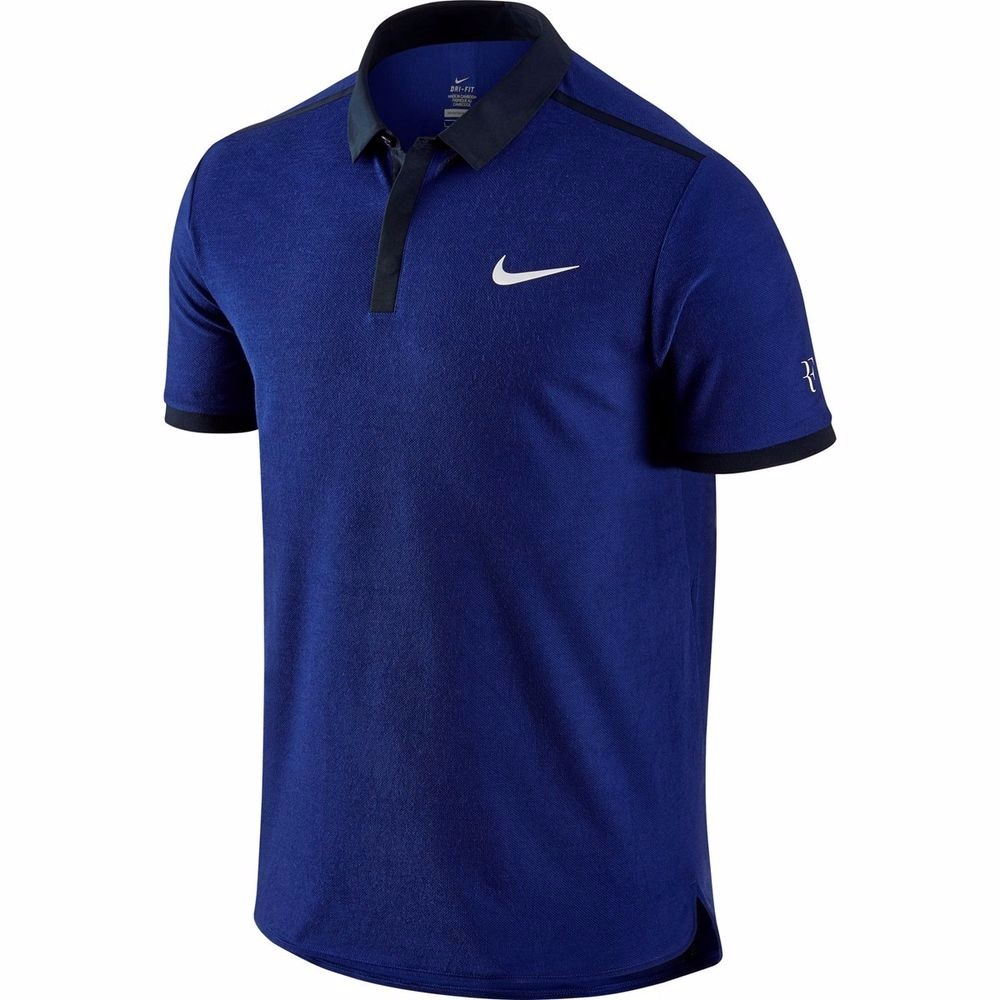 Nike Roger Federer Dri-Fit Tennis Polo