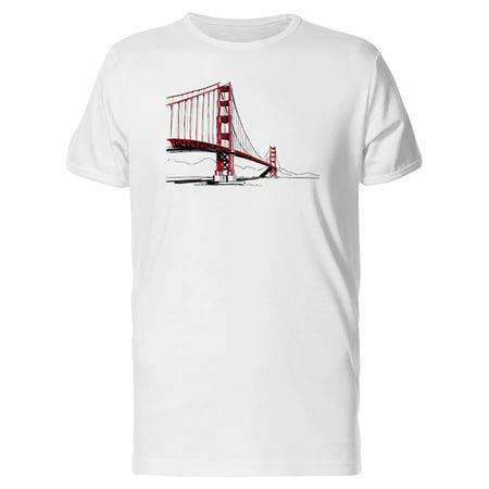 Color Sketch Of Bridge Tee Men