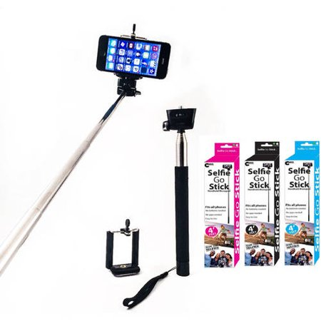 iphone samsung galaxy and android carco selfie go sticks 42 selfie stick for cameras smart. Black Bedroom Furniture Sets. Home Design Ideas