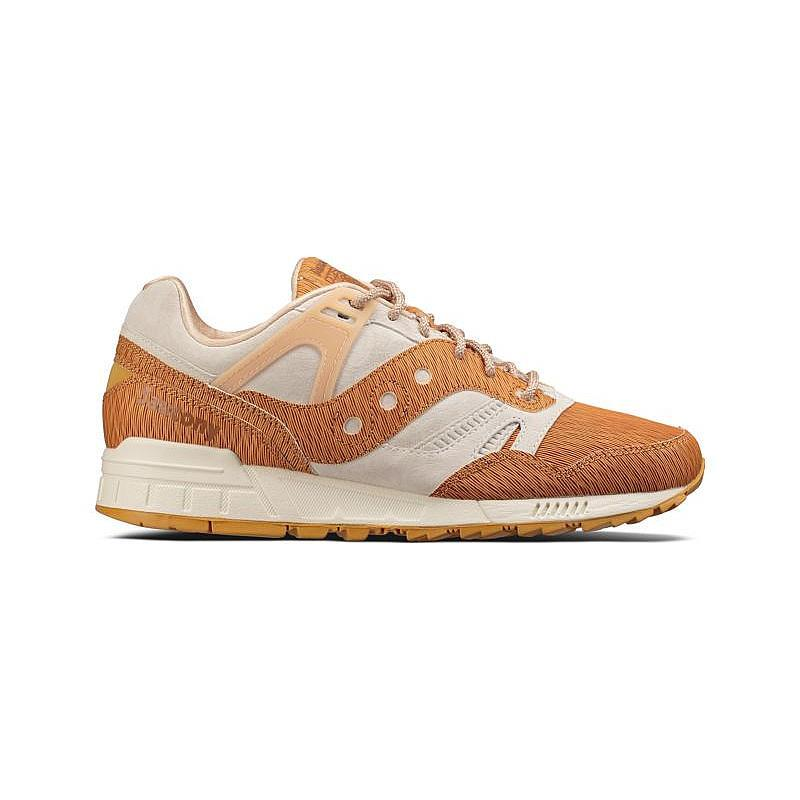 Mens Saucony Grid SD Woodburn Tan Grey S70351-2 by Saucony Originals
