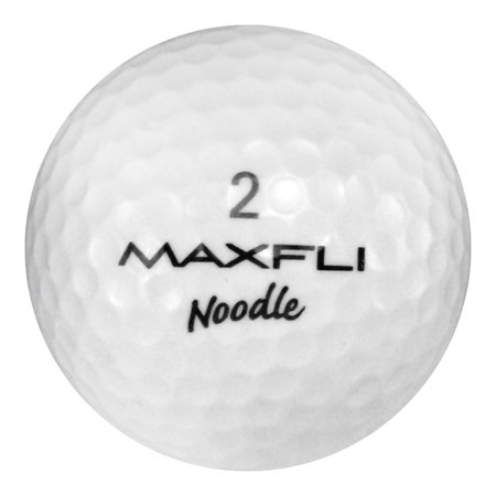 Maxfli Golf Balls, Assorted Colors, Used, Near Mint Quality, 12 Pack ()
