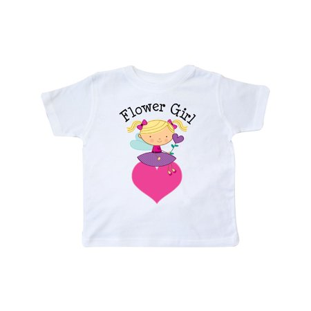 Flower Girl Love Fairy Wedding Toddler T-Shirt](Toddler Fairy)