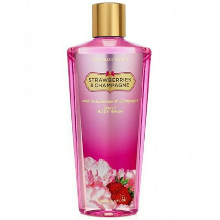 Secret Beauty Rush Strawberry (Victoria's Secret Strawberries & Champagne Body Wash, 8.4)