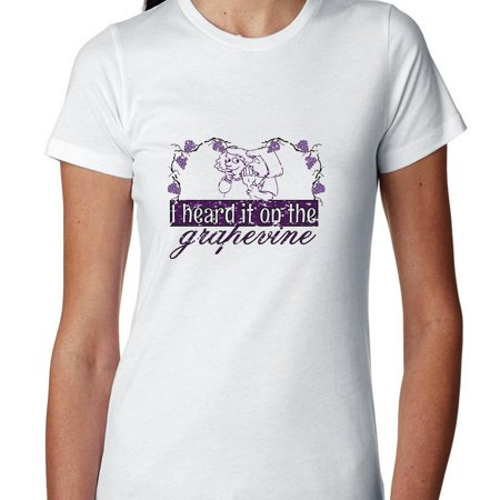 I Heard It On The Grapevine - Rumor Mill Women's Cotton (Grapevine Mills)