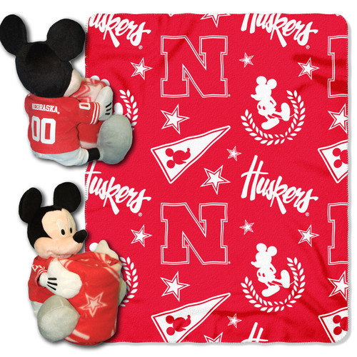 Nebraska Cornhuskers Disney Hugger Blanket