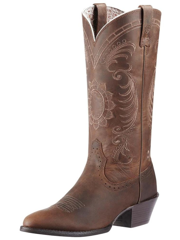 "Ariat 10010970 Magnolia 12"" Pull On Cowboy Boot by Ariat"