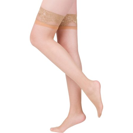 b329246d749 PEDS - Ladies Fusion Run Resistant Silky Soft Thigh Highs