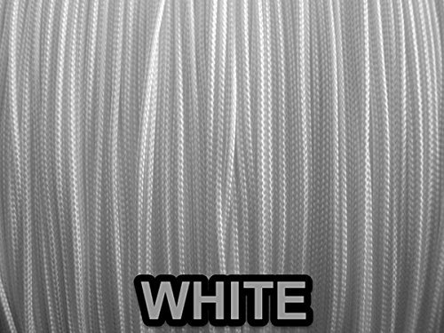 10 YARDS: 1.2 MM, WHITE Professional Grade LIFT CORD for Window Treatments by