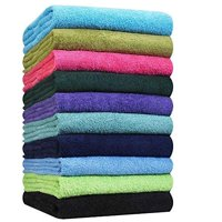 Hand Towels-24 Pack-Yellow, Super Absorbent Ring spun, 100% Cotton,(Size 16x27), Commercial Grade, Multipurpose, Gym-Spa-Salon Towel, 3 lbs. per Dozen Quality -By Pacific Linens (Yellow)