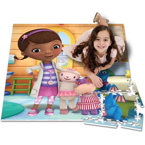 Disney disney collection disney doc mcstuffins interactive play mat fandeluxe Images