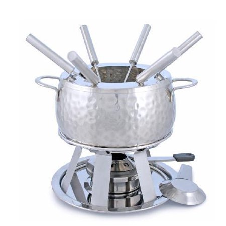 Swissmar Bienne 11 pc. Stainless Steel Fondue Set