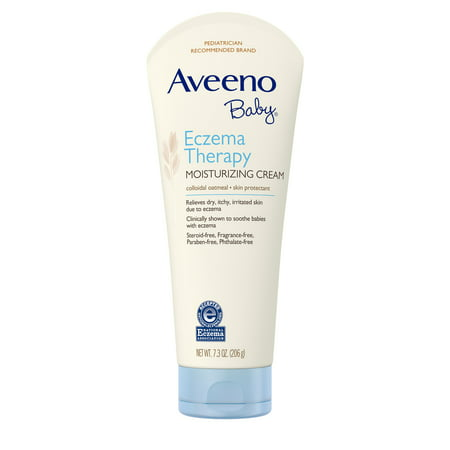 Aveeno Baby Eczema Therapy Moisturizing Cream with Natural Oatmeal, 7.3 (Best Natural Baby Cream)