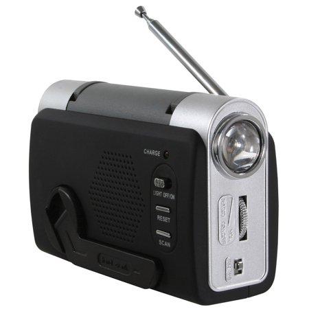Sportsman Series Hand Crank Emergency Radio (Halloween Radio Spot)