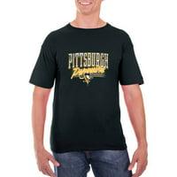 Men's Black Pittsburgh Penguins Team Logo T-Shirt