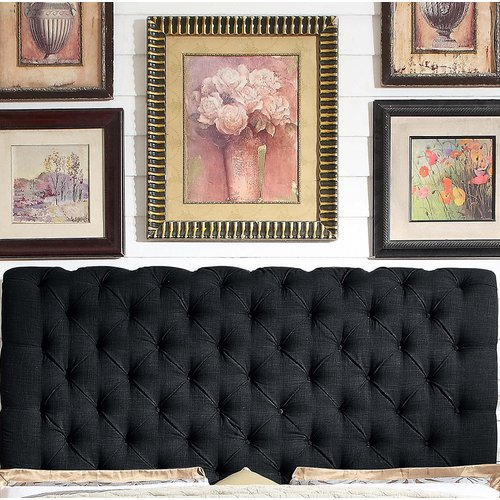 Mulhouse Furniture Calia Queen Upholstered Panel Headboard