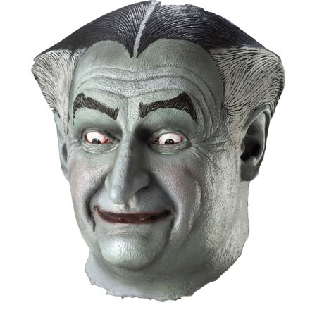 Morris Costumes Mens Full Over The Head Munsters Grandpa Latex Mask, Style RU4210](Munsters Costume)