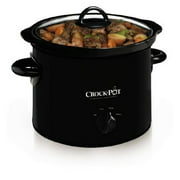 Crock-Pot 3-Quart Manual Slow Cooker, Black