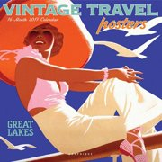 Vintage Travel Posters Wall Calendar